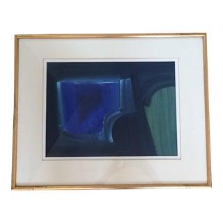 Bob Crossley Abstract Painting