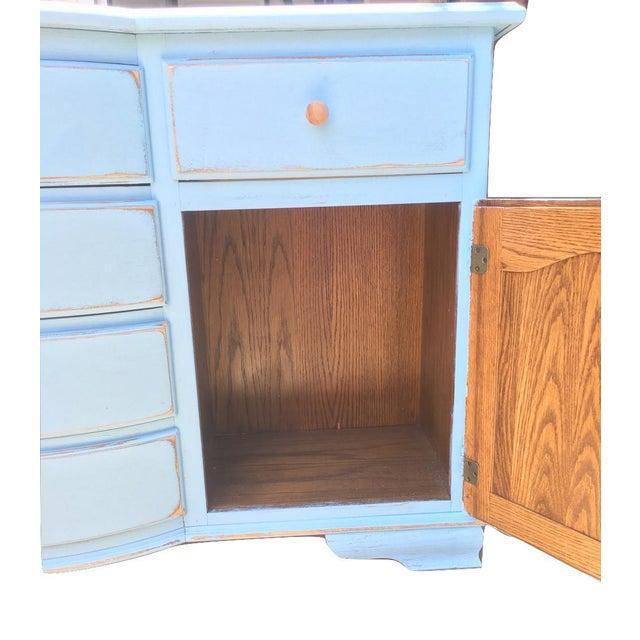 Vaisselier Shabby Chic: Shabby Chic Blue Dresser
