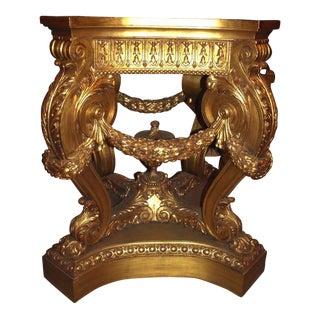 Antique Pair of Magnificent Pedestals