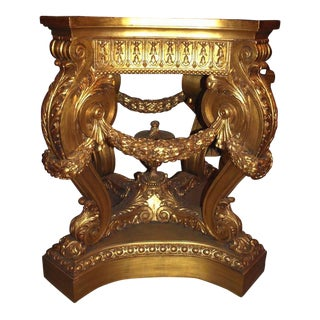 Antique Pair of Magnificent Pedestals