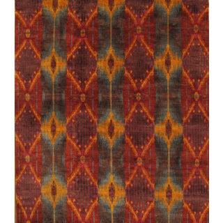 Pasargad's Ikat Wool Rug - 8′5″ × 10′3