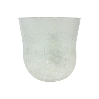 Finnish Glass Ice Bucket