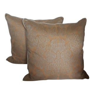 Fortuny Damask Pillows - A Pair