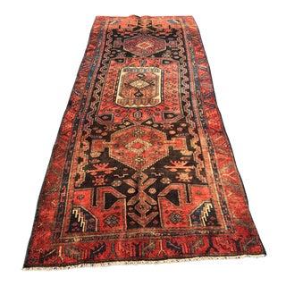 """Vintage Persian Bijar Runner - 3'9""""x10'8"""""""