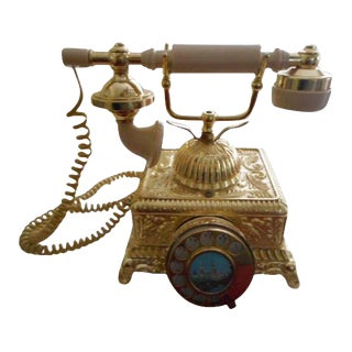 French Louis XV Rococo Telephone