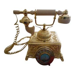 French Louis XV Rococo Telephone