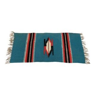 Vintage Native American Weaving Table Rug