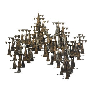 Brutalist Wall Sculpture by Marc Creates