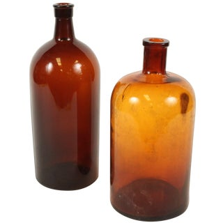 French Apothecary Jars - A Pair