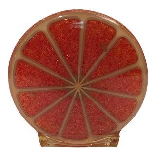 Vintage Lucite Citrus Eclectic Napkin Holder