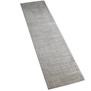 Gray Contemporary Rug - 3' x 10'