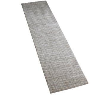 Gray Contemporary Rug - 3' x 10'