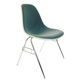Herman Miller Teal Girard Stacking Shell Chair
