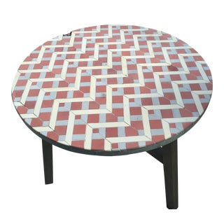 West Elm Mosaic Tiled Bistro Table