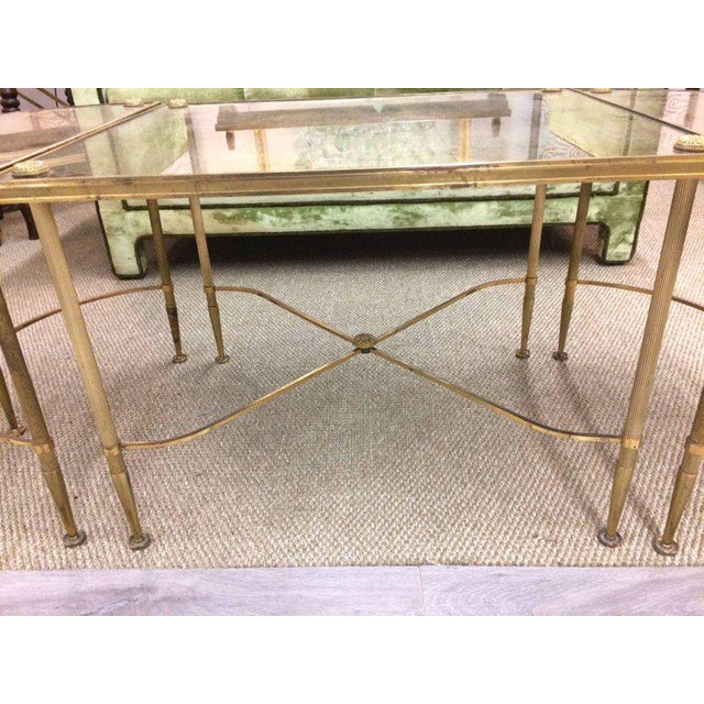 Vintage Oblong Gilded Coffee Table - Image 7 of 9