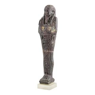 26th Dynasty Glass Ushabti