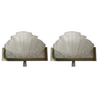 Georges Leleu French Art Deco Sconces - A Pair
