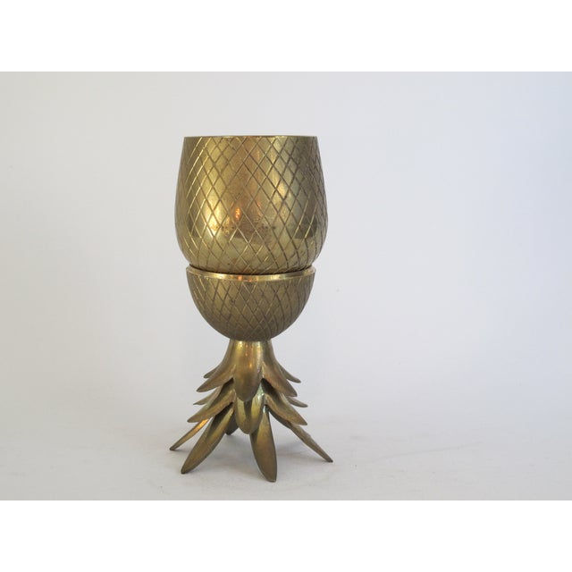 Brass Pineapple Box - Image 3 of 4