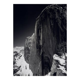 "Framed Ansel Adams ""Monolith"" Photograph Print"