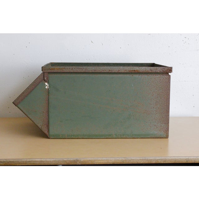 Image of Green Industrial Storage Bin