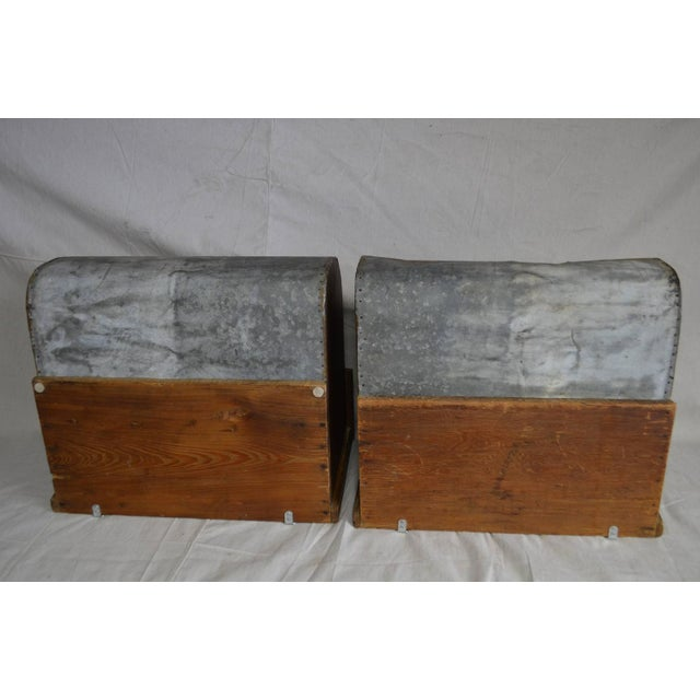 Side Tables Possum Belly Drawers - Pair - Image 8 of 10