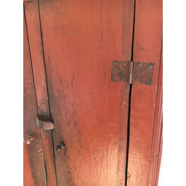 Image of Antique Chinese Elm Cupboard