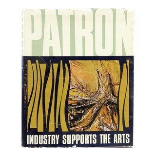 "Vintage ""Patron: Industry Supports the Arts"" Book"