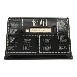 """Bar Aid"" Metal Scrolling Recipe Guide"