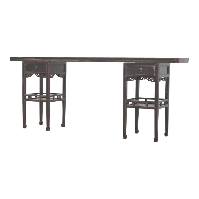 Image of Antique Sarreid LTD Ming Style Console Table