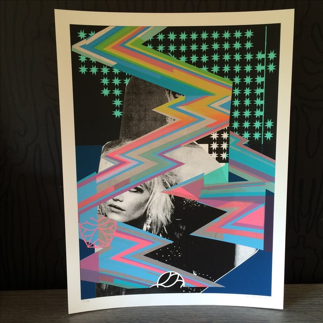 Image of Signed Blondie Silkscreen Poster