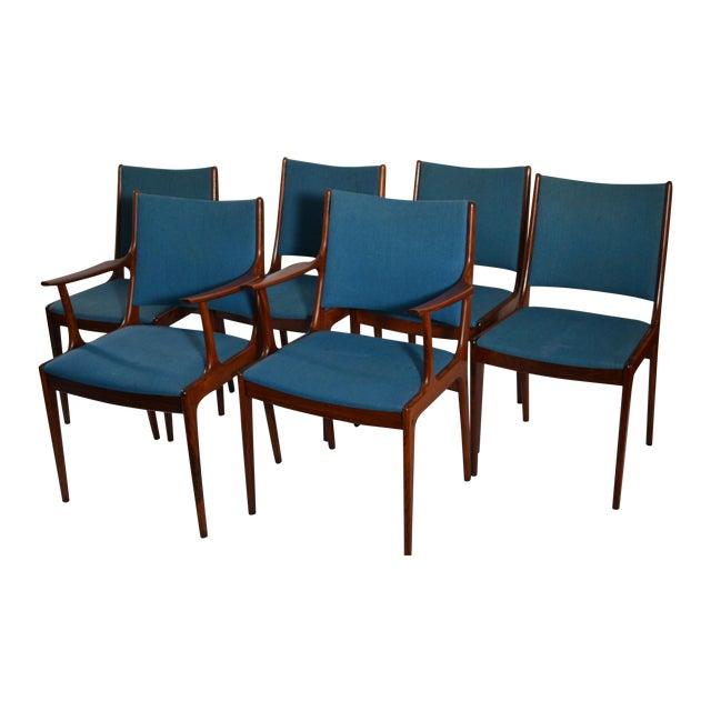 Joannes Andersen Danish Dining Chairs - Set of 6 - Image 1 of 3
