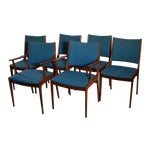 Image of Joannes Andersen Danish Dining Chairs - Set of 6