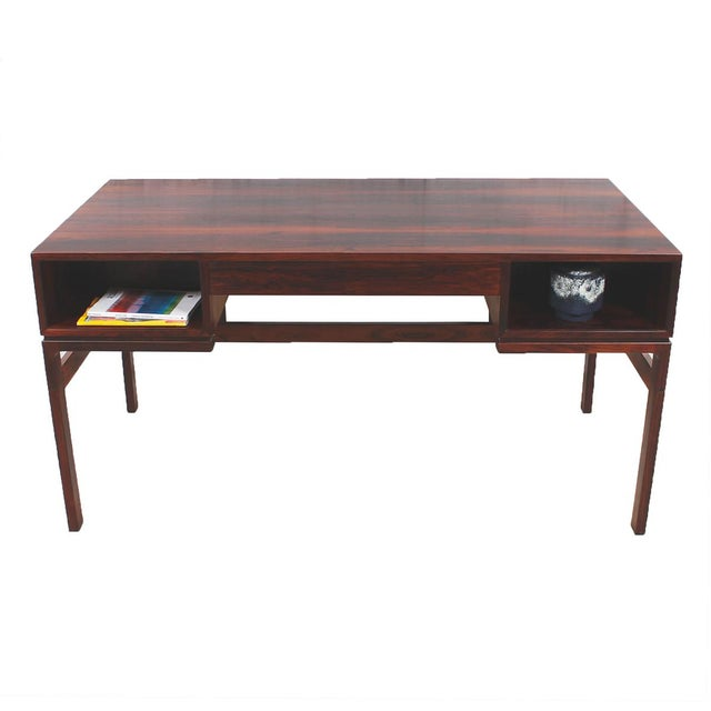 Danish Modern Rosewood Desk by Arne Wahl Iversen - Image 2 of 7