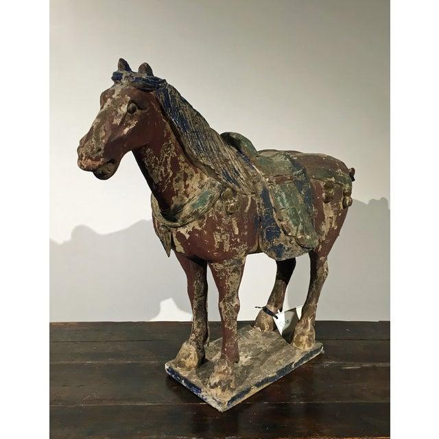 Antique Horse Statue - Image 3 of 5