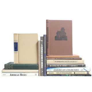 American Architecture Books - Set of 15
