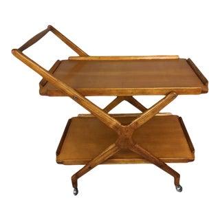 Italian Fruitwood Bar Cart