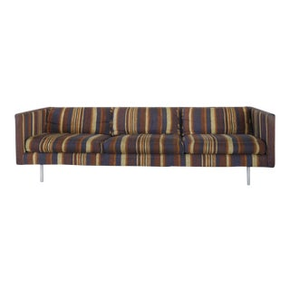 Milo Baughman for Directional Tuxedo Sofa