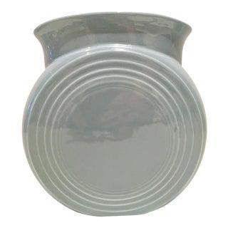 """90's Fiesta Ceramic """"Millennium II"""" Periwinkle Vase"""