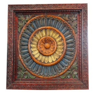 Original Painted Ceiling Panel