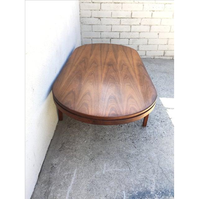 Mid-Century Walnut Coffee Table - Image 6 of 11
