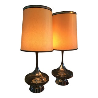 Harris Industries Fiber Optic Lamps - A Pair