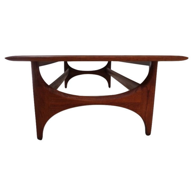 Lane Pearsall Coffee Table: Lane Pearsall Style Mid-Century Modern Coffee Table