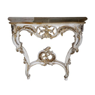 French-Style Onyx Top Console
