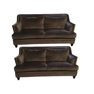 Baker Furniture Dauphine Sofas - A Pair