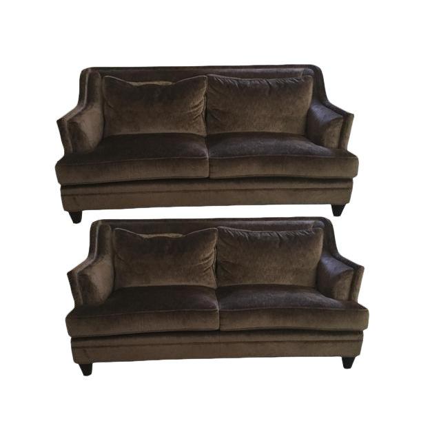 Baker Furniture Dauphine Sofas A Pair Chairish