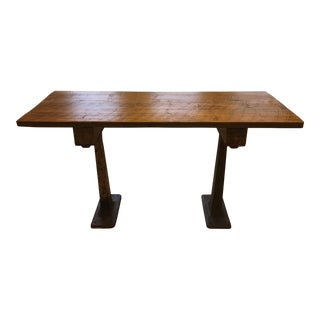 Handmade Industrial Desk or Dining Table
