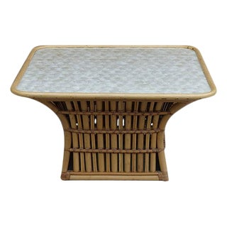 Rattan & Capiz Shell Maguire Style Coffee Table