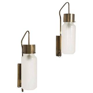 Bidone Wall Lamps by Caccia Dominioni