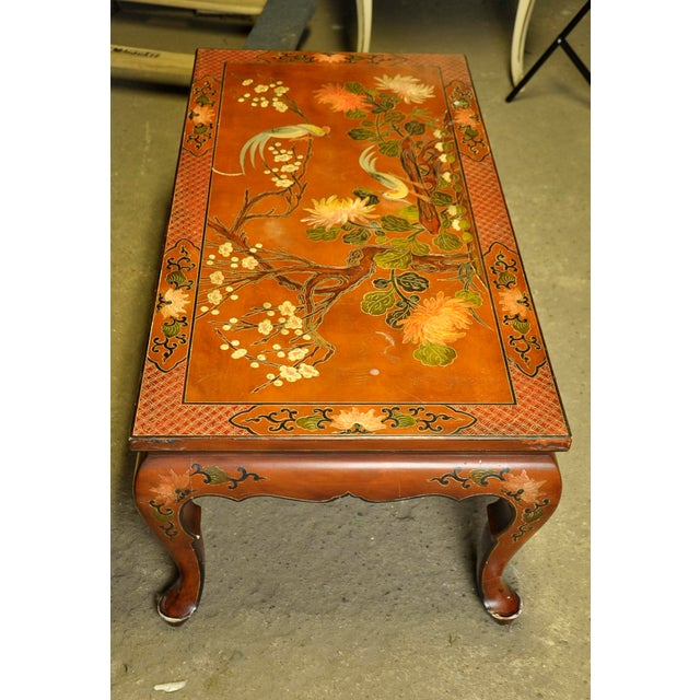 Vintage Asian Style Coffee Table - Image 4 of 8