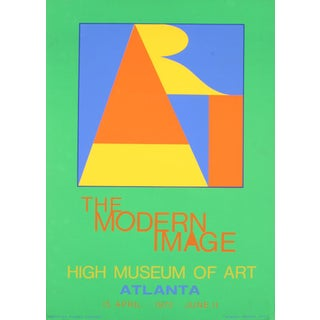 Atlanta Art Serigraph Poster by Robert Indiana 1972
